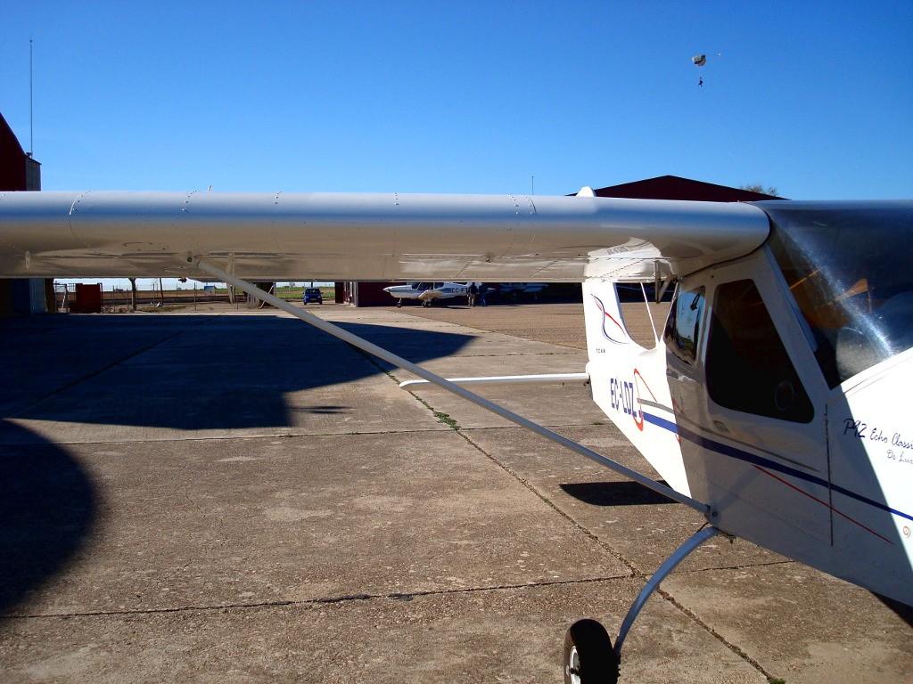 Preparando el vuelo